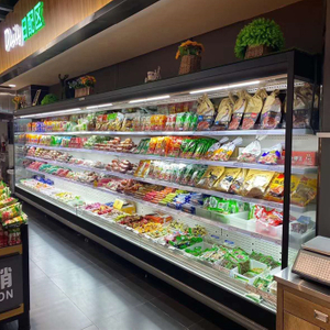 Commercial Supermarket Mutideck Open Refrigeration Mutideck Open Display Cooler