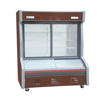 Energy Saving Restaurant Use Display Fruit And Vegetable Cooler Freezer