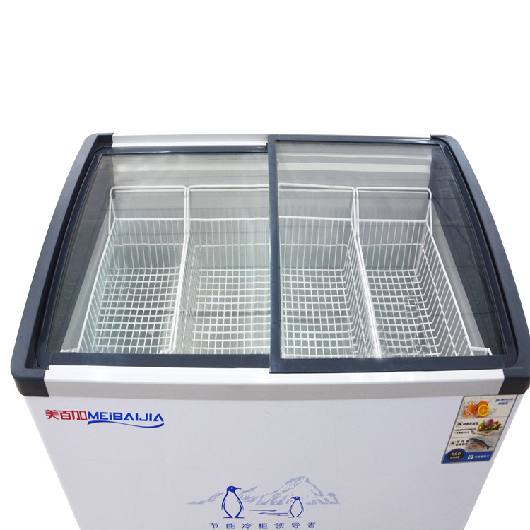 Commercial Chest Deep Freezer For Ice Cream