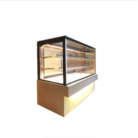 Commercial Cake Shop Back sliding Door Showcase Cabinets Fridge
